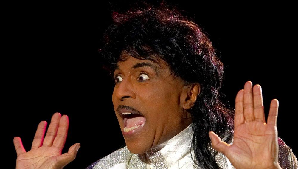 Little Richard, durante una de sus actuaciones