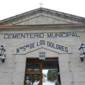 Fachada principal Cementerio Municipal de Crevillent.