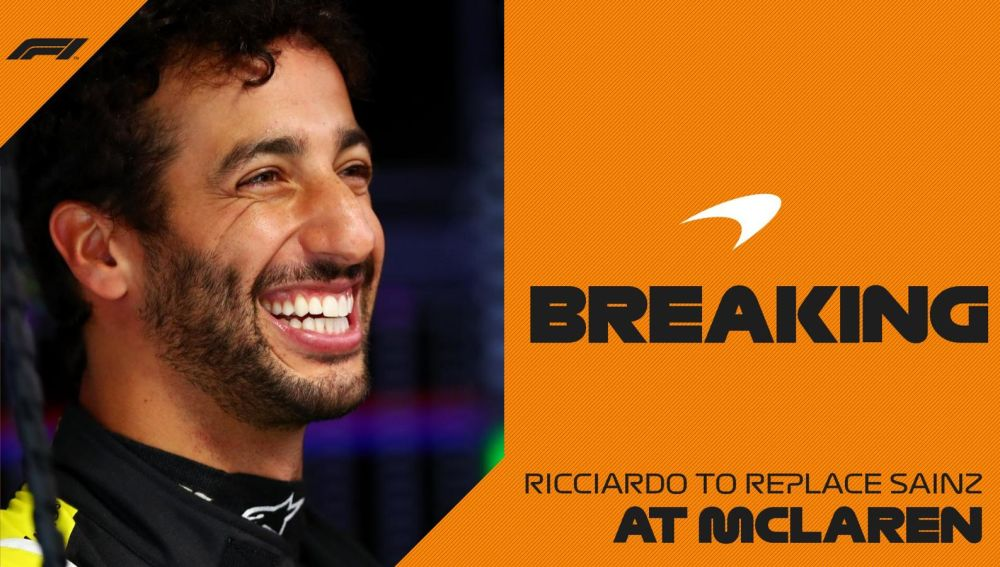 Daniel Ricciardo ficha por Mclaren