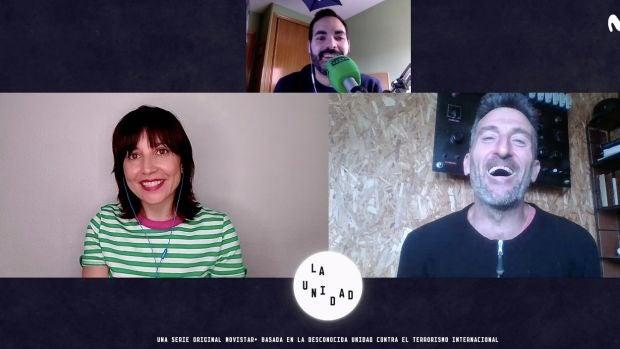 Entrevista de David Martos con Marian Álvarez y Luis Zahera para Kinótico