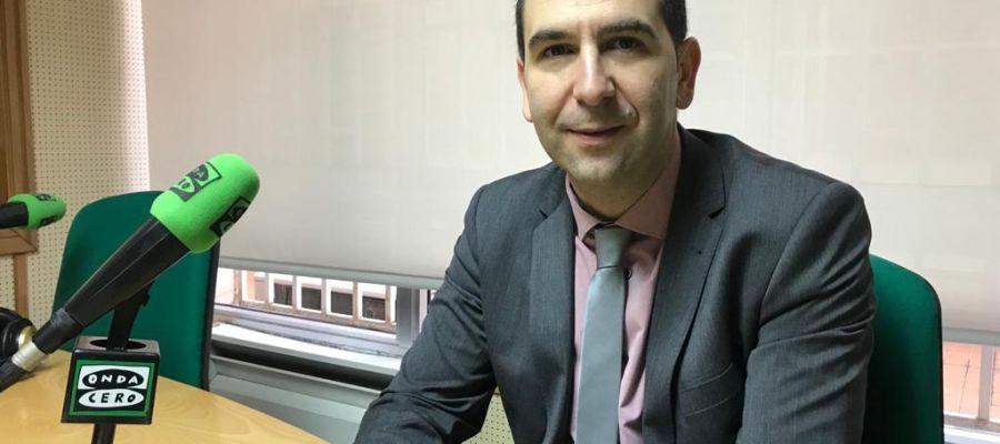Mario Simón, alcalde de Palencia