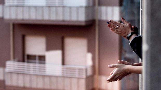 'Desde mi ventana', el documental homenaje a los sanitarios