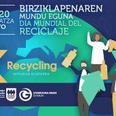 Día mundial del reciclaje en Más de uno Gipuzkoa