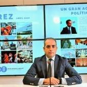 Antonio Saldaña, concejal del PP en Jerez