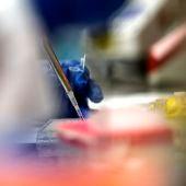 Trabajos en laboratorio
