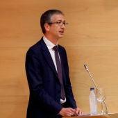 El gobernador del Banco de España, Pablo Hernández de Cos, en una imagen de archivo