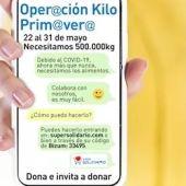 Imagen del cartel de la campaña 'Operación Kilo Primavera' del Banco de Alimentos de Sevilla
