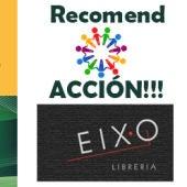 Recomend ACCION en Onda Cero Ourense con Libreria Eixo