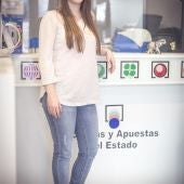 """Marisela Adame en su administración de lotería """"Atrapasueños"""""""