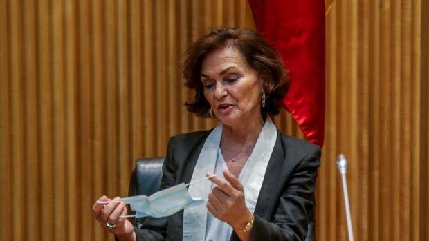Humor   Exclusiva: Carmen Calvo dará las campanadas de este año