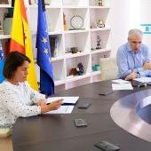 Francisco Conde, na reunión co sector Biotecnolóxico