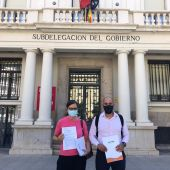 Ashotur entrega un manifiesto en la Subdelegación del Gobierno de Castellón
