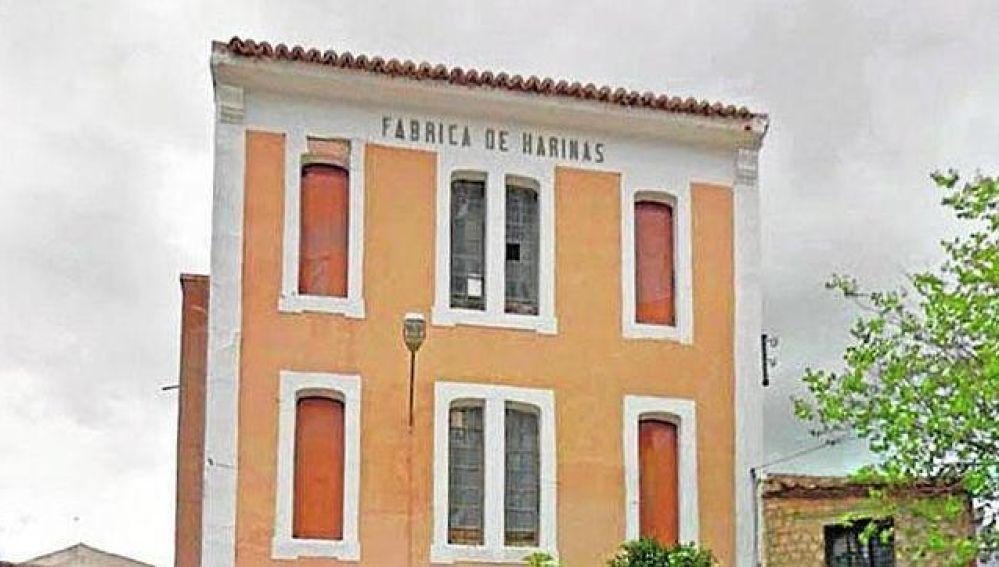 Fábrica de Harinas de Valverde de Júcar que perteneció a la familia de Virginia Pérez Buendía