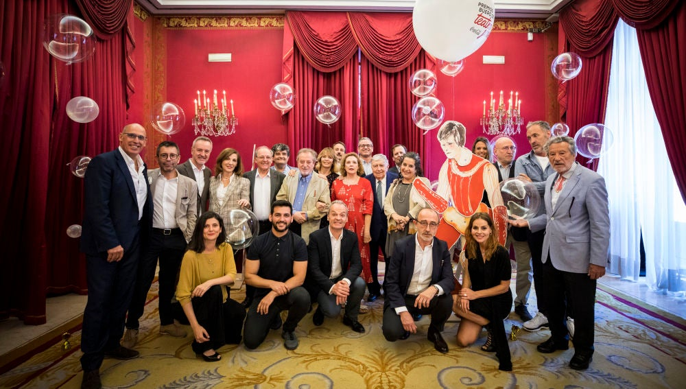 Imagen del jurado nacional de los Premios de Teatro Joven Buero