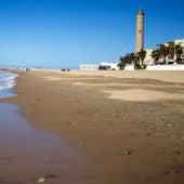 Playa de Regla, en Chipiona