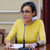 Lola Cazalilla, delegada de Fiestas del Ayuntamiento de Cádiz