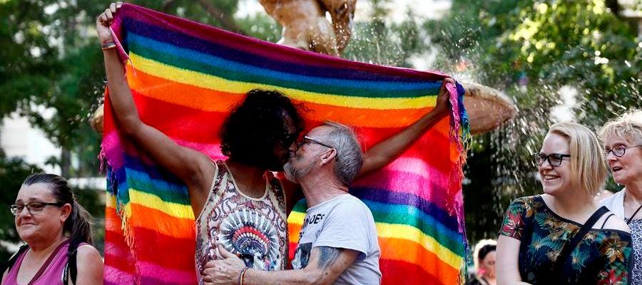Día del Orgullo 2020 | Participantes en la manifestación del Orgullo 2019 en Madrid.