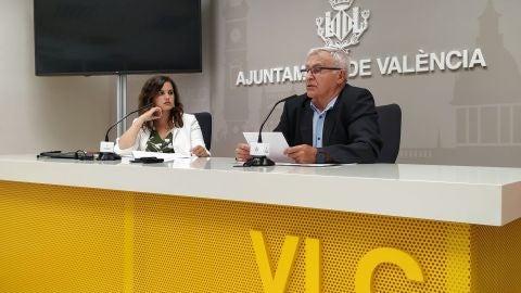 Sandra Gónez y Joan Ribó