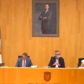 Bronco pleno en Diputación