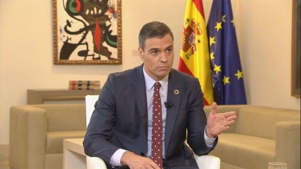 Pedro Sánchez responde a Antonio García Ferreras en Moncloa