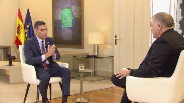 Entrevista de Antonio García Ferreras a Pedro Sánchez en Moncloa