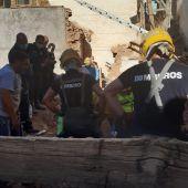 El trabajador ha fallecido tras caerle encima una tapia