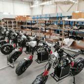 Fábrica de ciclomotores eléctricos