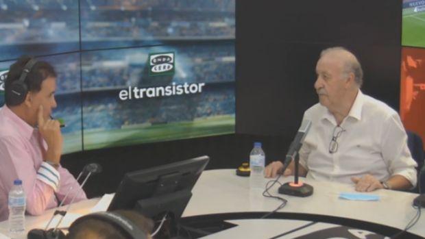 """Vicente Del Bosque: """"No creo que el Mundial me haya cambiado la vida"""""""