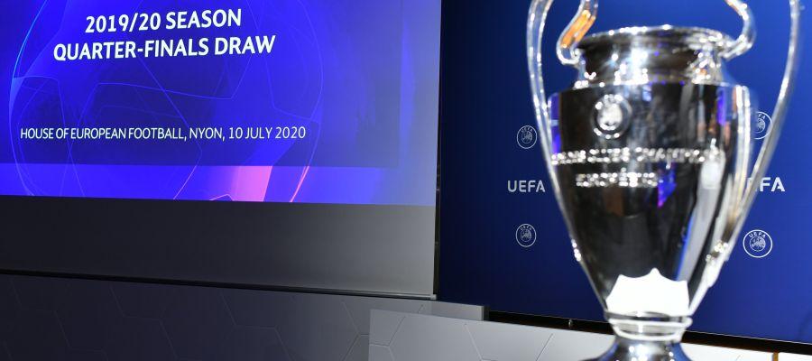 Sorteo Champions, en directo online: cruces de cuartos, semifinales y final
