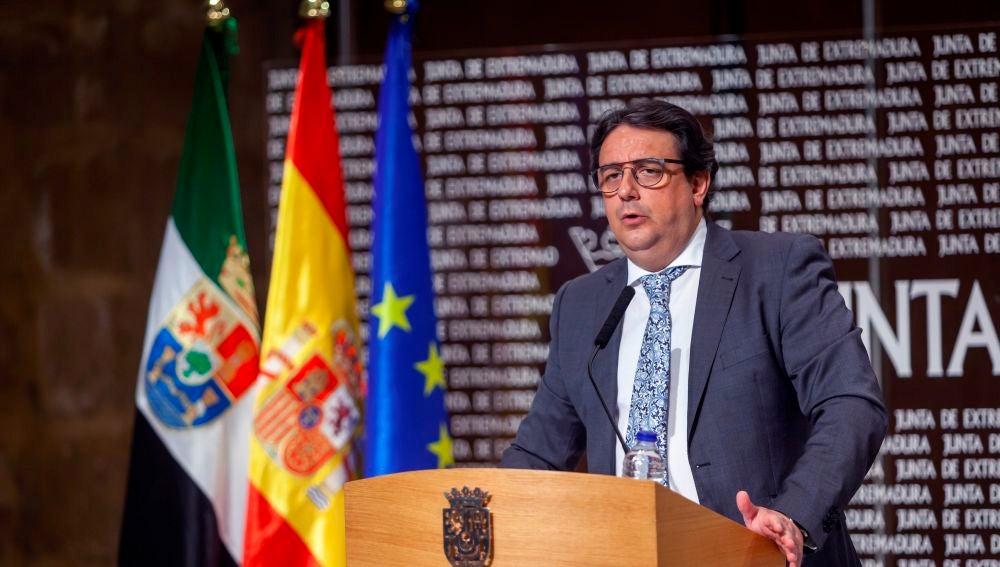 El vicepresidente segundo y consejero de Sanidad y Servicios Sociales de la Junta de Extremadura, José María Vergeles