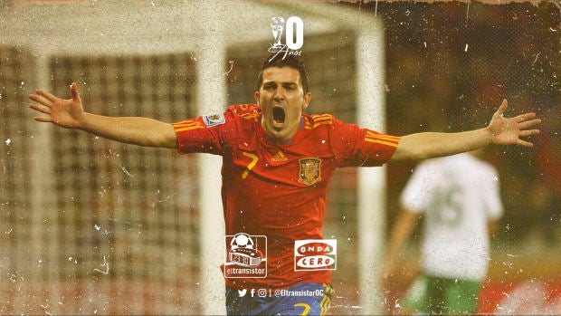 """David Villa: """"Hemos vivido  injusticias  en los mundiales y veíamos alejado que España pudiera conseguir algo así"""""""