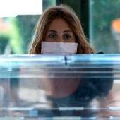 Urna electoral en pandemia (Archivo)