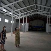 Zamora y Torralbo visitaron la finalización de las obras en la nueva nave del guardapasos