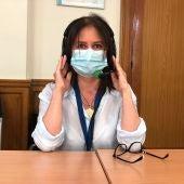 Guiomar Sánchez, enfermera del Gregorio Marañón