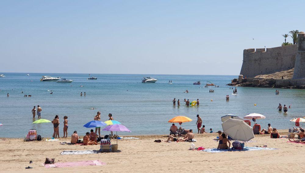 Playa de Peñíscola.