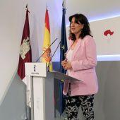 Blanca Fernández, portavoz del Gobierno de CLM