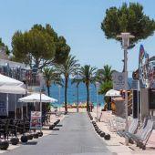 Baleares cierra tres calles de Magaluf y Playa de Palma para evitar contagios de coronavirus
