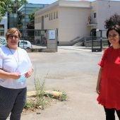 Olmedo y Zamora han visitado la parcela cedida por la Junta al Ayuntamiento
