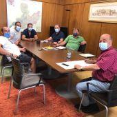 encuentro con 4 las Comunidades de Regantes de A Limia