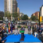 Alcalde de Málaga, en la inauguración de la fuente de las Gitanillas