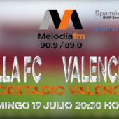 Sevilla FC vs Valencia CF en radioestadio valenciano