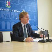 Ignacio Gragera, primer teniente de alcalde del Ayuntamiento de Badajoz