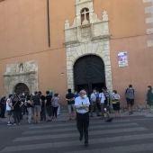 El funeral se ha celebrado en la iglesia del barrio de San Antón