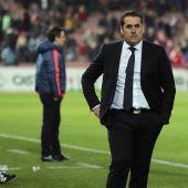 Jose Ramón Sandoval, entrenador del Fuenlabrada