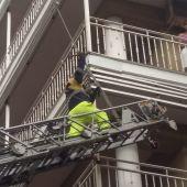 Los bomberos tuvieron que actuar en numerosas viviendas de Ciudad Real