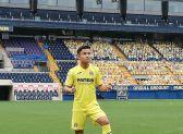 Kubo, nuevo jugador del Villarreal CF.