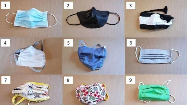 La Universidad de Duke analiza la eficacia de 14 tipos de mascarillas y alternativas