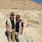 En la ribera del Nilo, en JELO en verano: la egiptóloga Teresa Bedman.