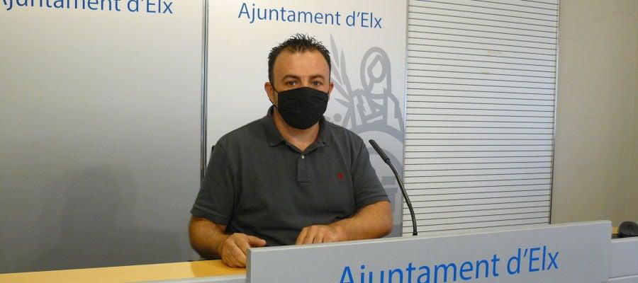 Ramón Abad, concejal de Seguridad Ciudadana.