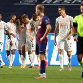 El Bayern elimina al Barcelona
